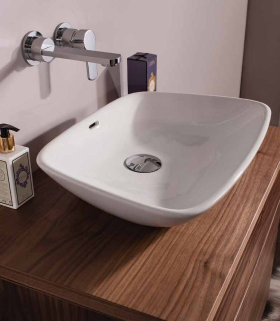 Bauhaus Anabel Countertop Basin With Overflow