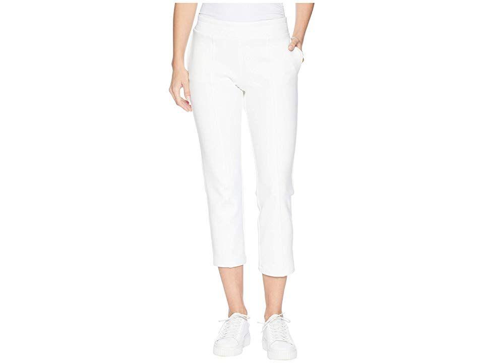 Cushnie et Ochs Bobbi Neoprene Pants White Womens Casual Pants Wake up hit the gym and run errands in the comfy style of the Cushnie et Ochs Bobbi Neoprene Pant Relaxed f...