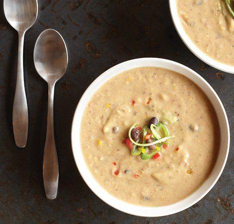 schwarze bohnen suppe suppen mit ohne tm pinterest schwarze bohnen bohnen und schwarzer. Black Bedroom Furniture Sets. Home Design Ideas