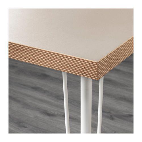 linnmon krille tisch beige wei - Beige Weis Ikea