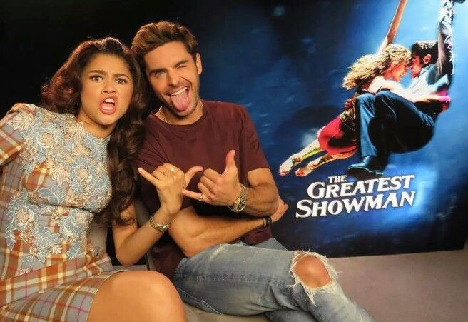 Zendaya and Zac Efron | The Greatest Showman | The ...