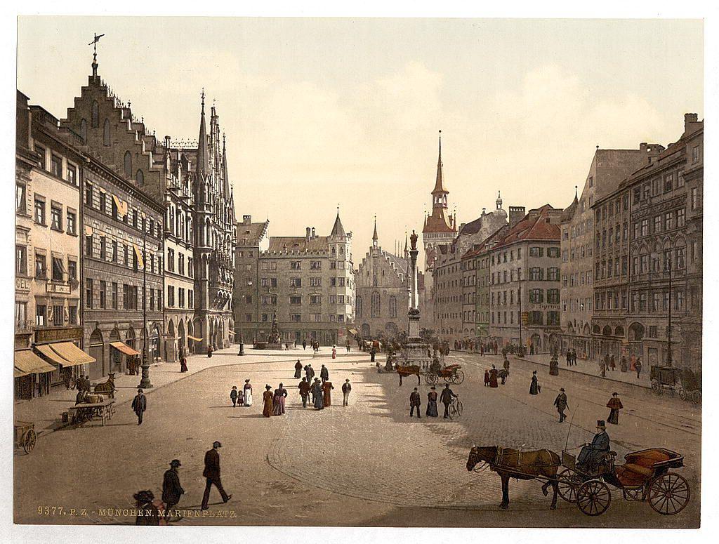 Открытки старая германия, год годовщину