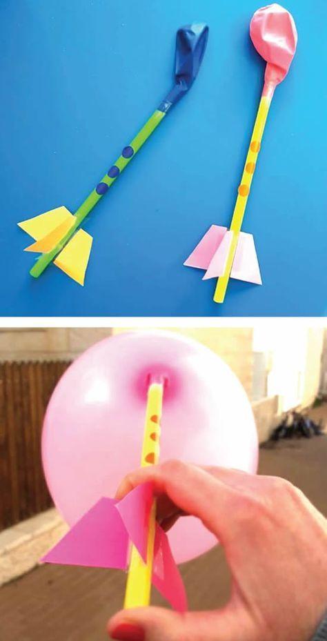 Como fazer Brinquedo com Canudos | Como fazer em c...