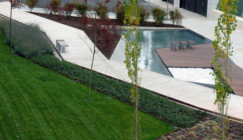 Arquitectura paisajista jardines del museo w rth la rioja for Jardin paisajista