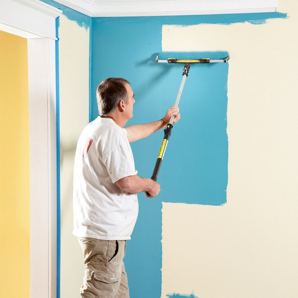 Great Paint Roller Hacks That Can Save You Mess Time And Money Room Paint Painting Walls Tips Wall Painting