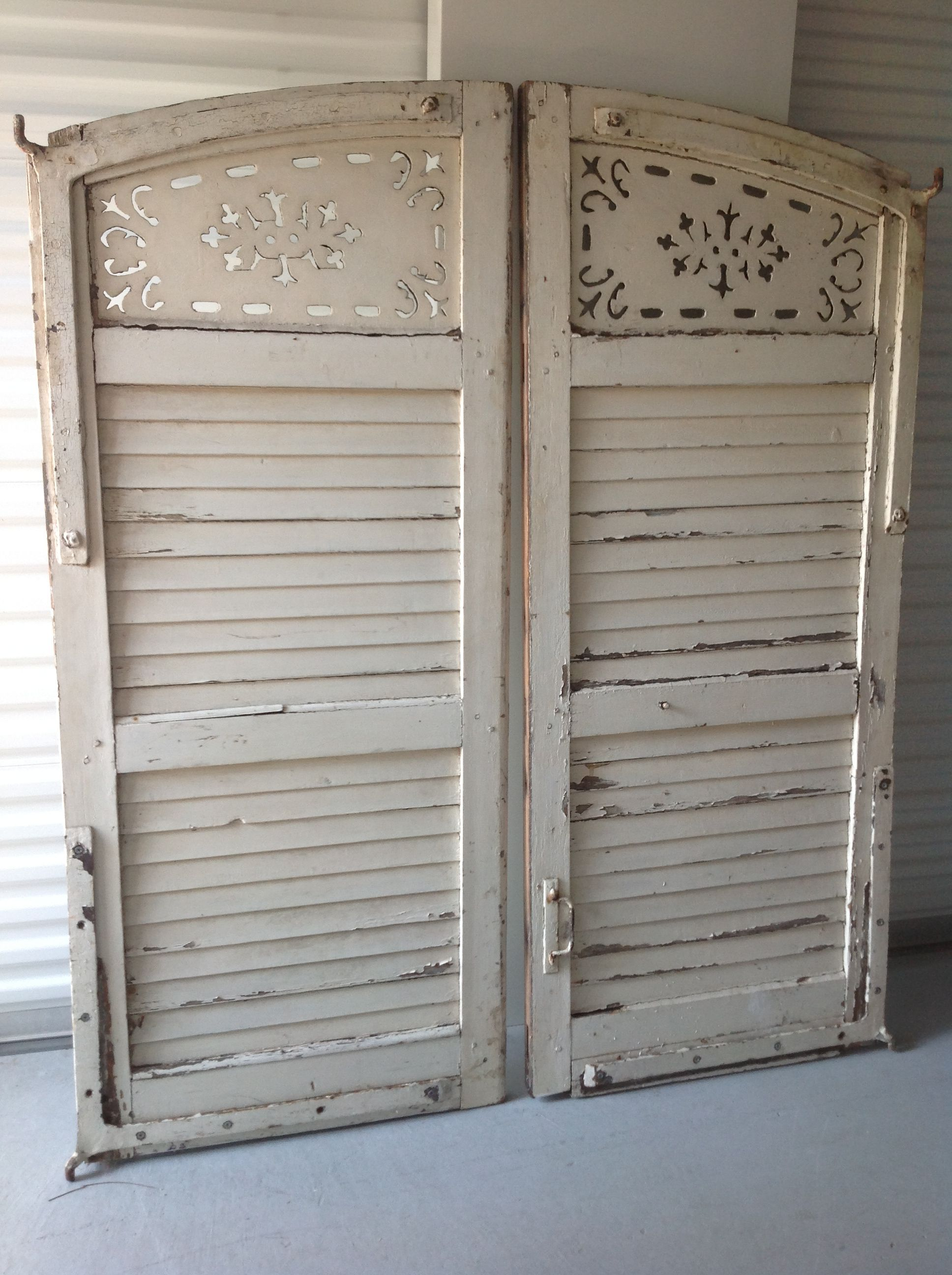 Janes French Shutters For Headboard Side B Xoxo