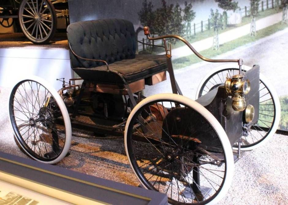 The Original 1896 Henry Ford Quadricycle Classic Cars Vintage