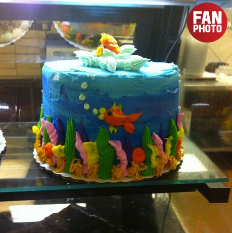 Groovy Saw This Cake In Winn Dixie Isnt It Just So Cute And Cool Personalised Birthday Cards Veneteletsinfo