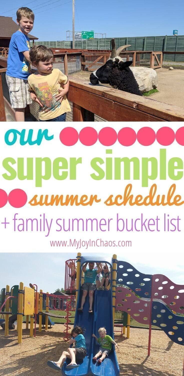 Our simple summer schedule {+ family summer goals & summer bucket list #summerschedule Tips for a summer schedule, an Easy Example Summer Schedule, Family Bucket List, and Family Summer Goals | My Joy in Chaos #summerschedule Our simple summer schedule {+ family summer goals & summer bucket list #summerschedule Tips for a summer schedule, an Easy Example Summer Schedule, Family Bucket List, and Family Summer Goals | My Joy in Chaos #summerschedule Our simple summer schedule {+ family summer goal #summerschedule