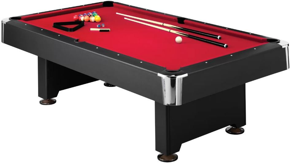 Mizerak Donovan Ii Slate 8 Pool Table Accessories 10 Heavy Duty 8 Ft Slate Pool Table Options For Bil Outdoor Pool Table Pool Table Slate Best Pool Tables