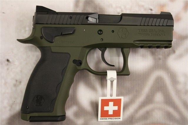 Kriss Sphinx SDP Compact Krypton OD Green 15rd 9mm : Semi