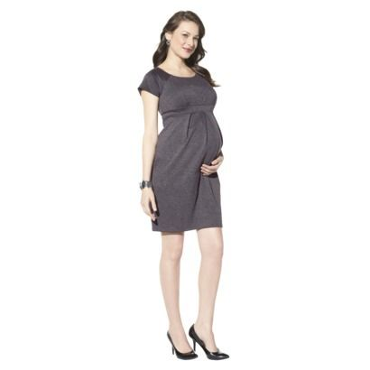 ebeae7216cf12 Liz Lange® for Target® Maternity Short-Sleeve Ponte Dress - Gray ...