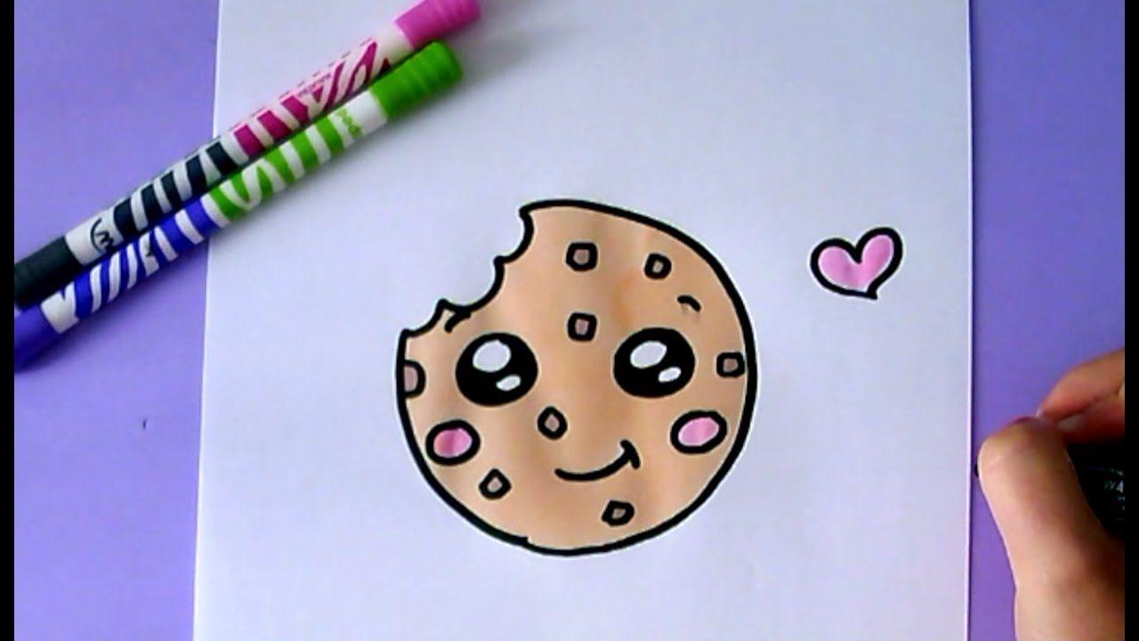Desenhos Faceis De Fazer Como Desenhar Cookie Fofo De 2020
