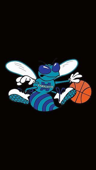 Charlotte Hornets Logo Wide World Of Sports Iphone Wallpaper