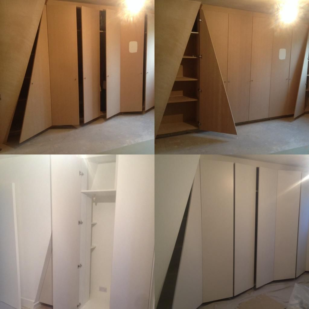 Bespoke Under Stairs Shelving: Fitted Wardrobes And Freestanding Furniture, Suspended