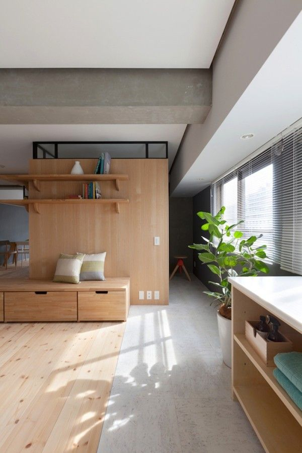 Two Apartments In Modern Minimalist Japanese Style (Includes Floor Plans) (Interior  Design Ideas)