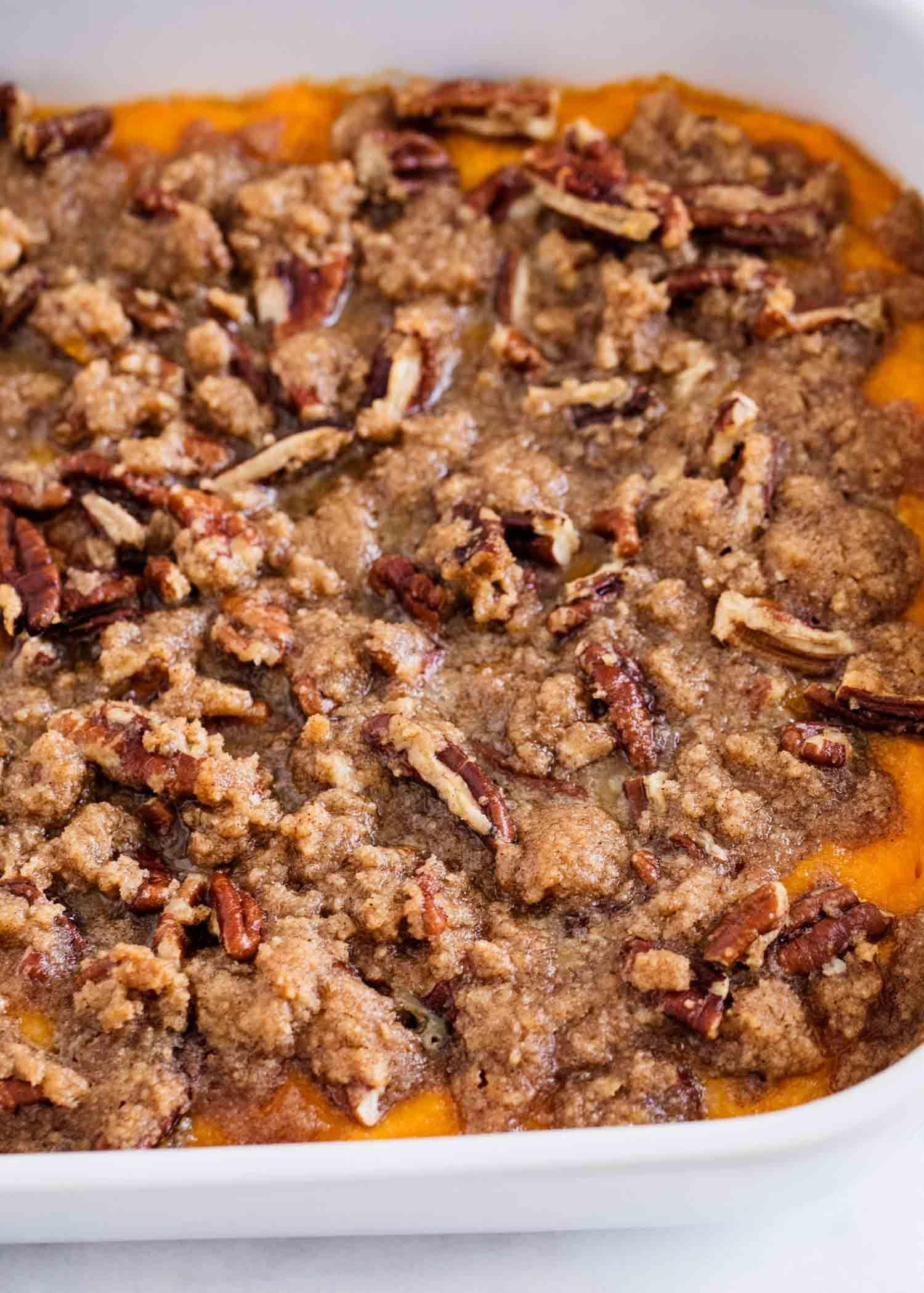 The BEST Sweet Potato Casserole - I Heart Naptime