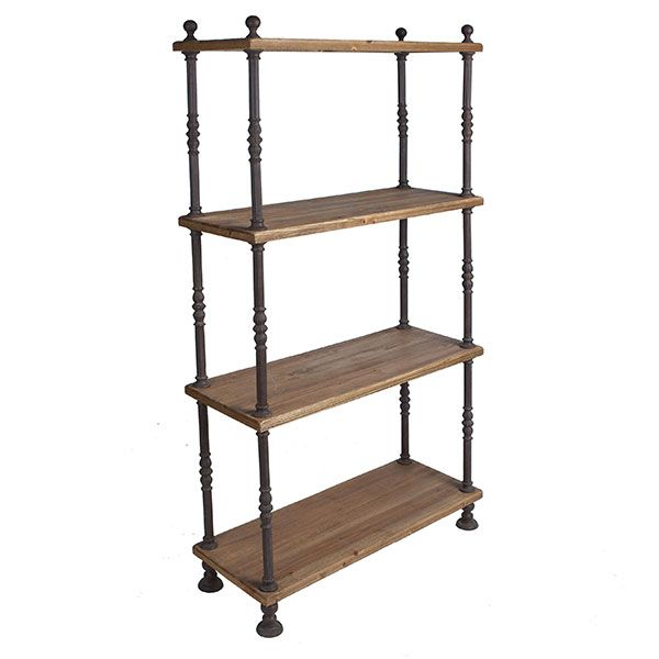 I Love Open Back Bookshelves They Aren T Always Practical But When They Can Be Used Go For It Your Wall Color Isn T Cov Shelves Wood Bookshelves Bookcase