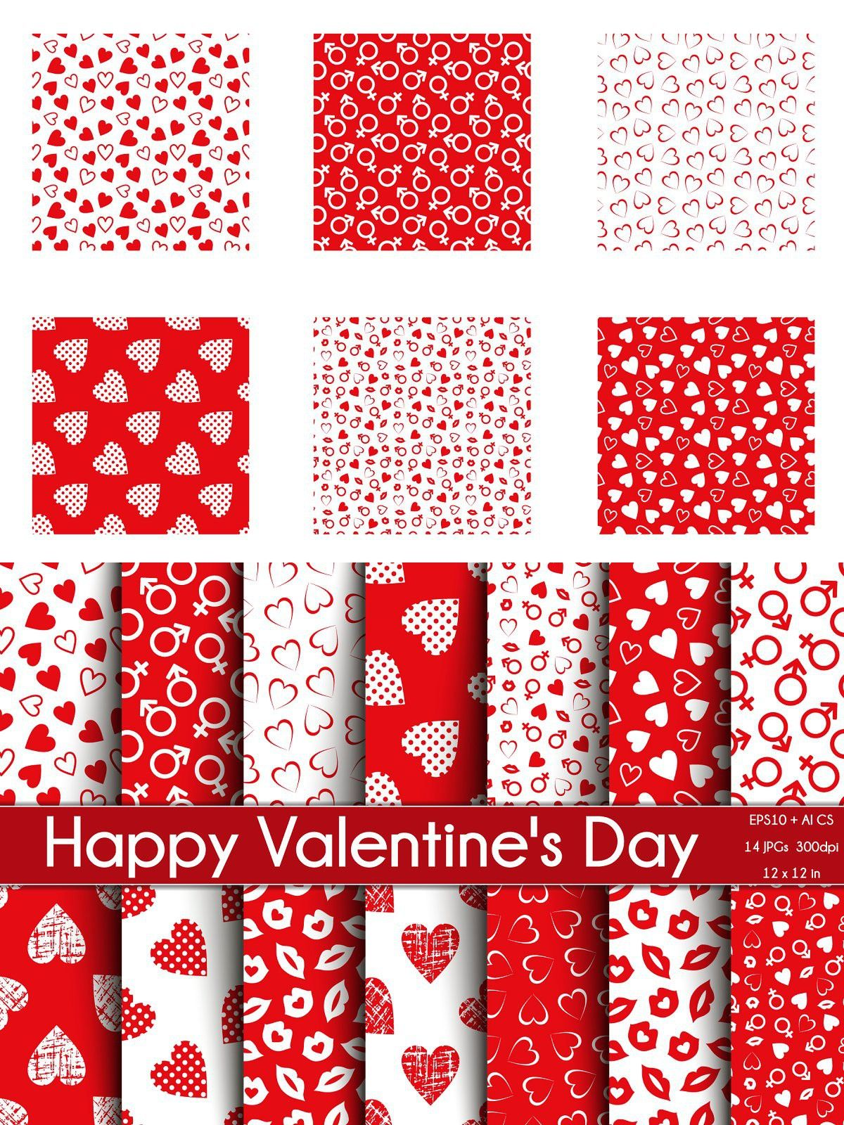 Valentine   day seamless patterns vector pattern textured background paper decorations home interior design also beautiful graphic rh pinterest