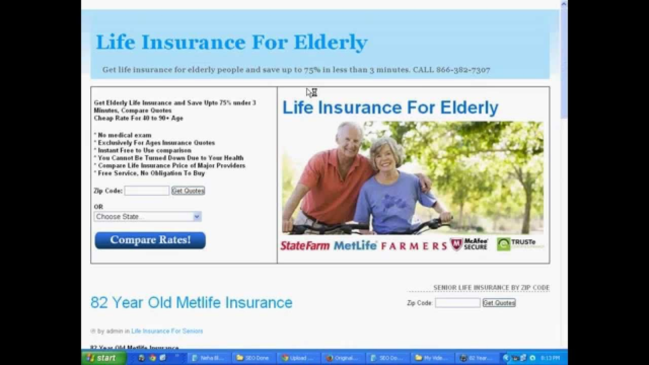 Life Insurance For A 82 Year Old Is It Available Any Company