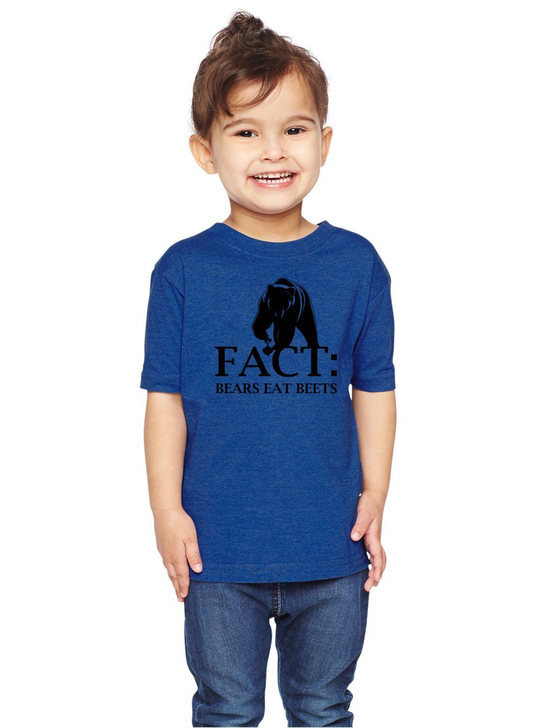 666f18fca20865 Fact  Bears Eat Beets Dwight Schrute Unisex Toddler Shirt