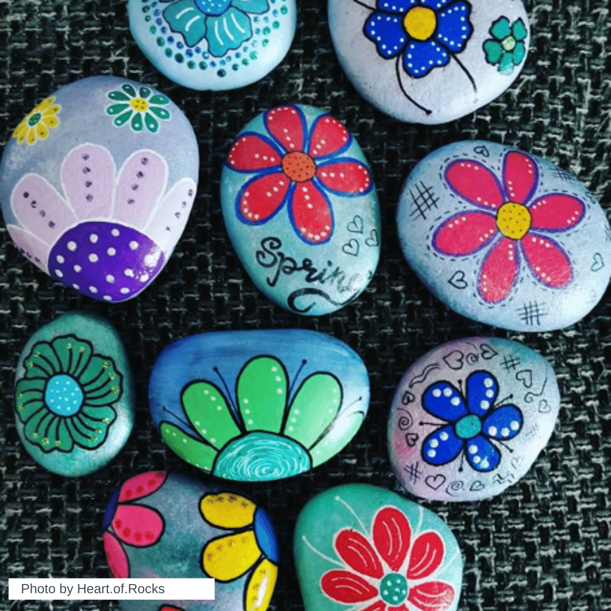 50+ Easy spring Crafts - Painted Rock Ideas To Inspire You