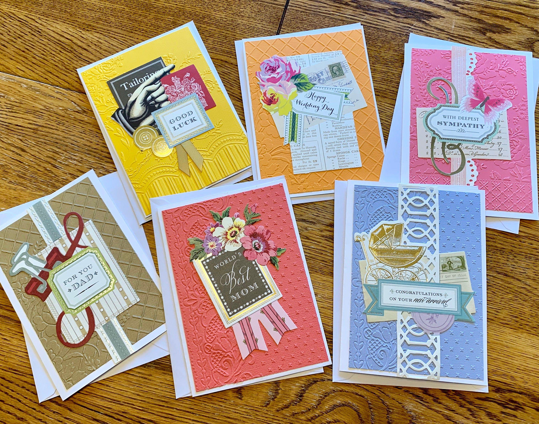 Assorted greeting card set handmade greeting card set