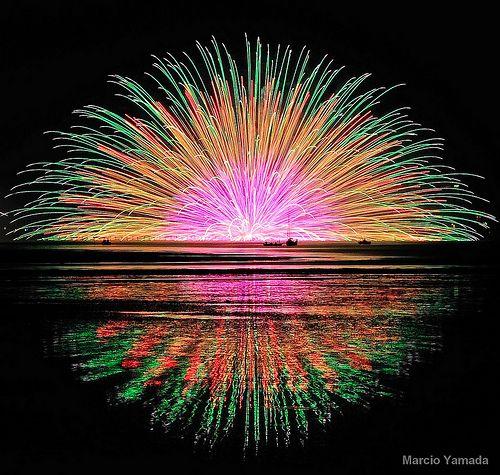 Vuurwerk en licht maakt alles stukken mooier!