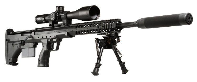 Desert Tech (Desert Tactical Arms) SRS (Stealth Recon Scout) Bullpup Long Range Sniper Rifle