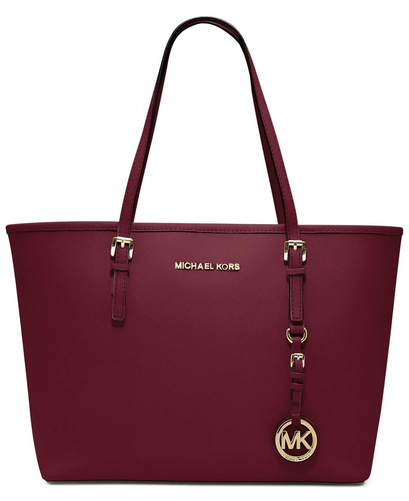 MICHAEL Michael Kors Handbag, Jet Set Travel Small Tote ...