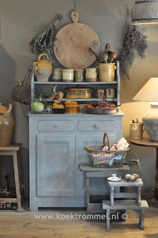 Stilleven met authentieke franse items franse items pinterest stilleven en met - Keukenmeubelen platteland ...