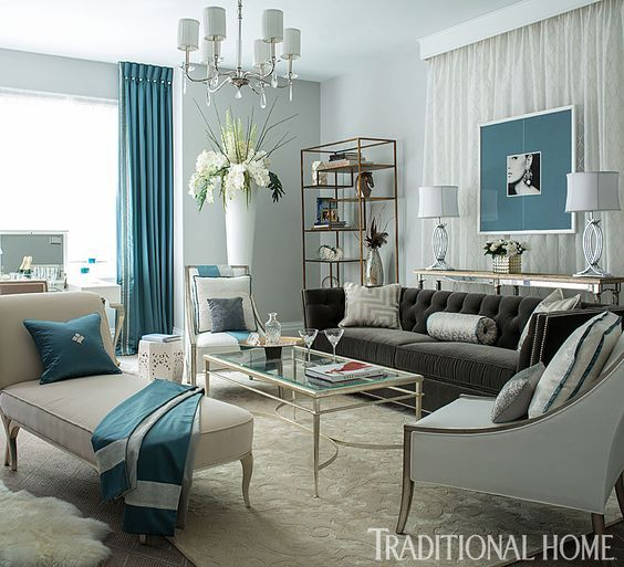 Traditional and transitional room decor | Interior design wall, Iron ...