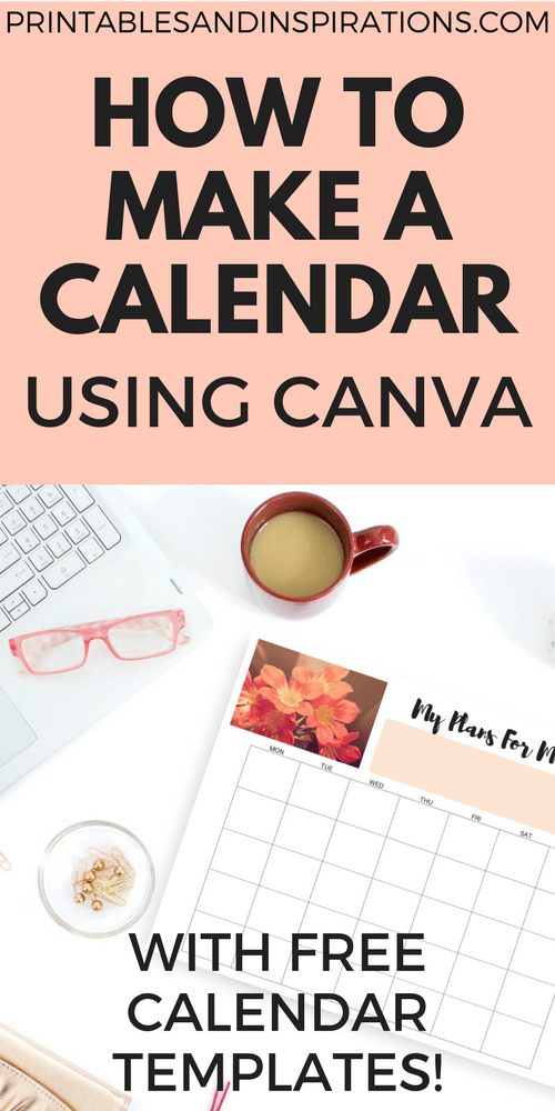 How To Make A Calendar Or Planner Using Canva | BULLET