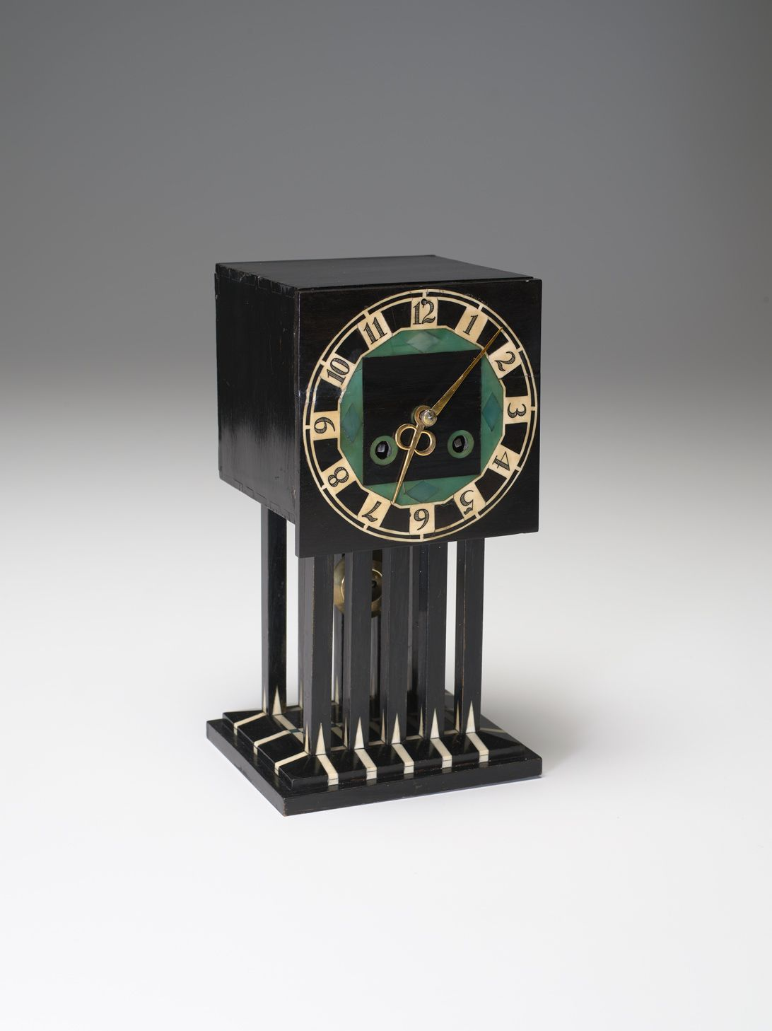 Charles Rennie Mackintosh (Scottish , 1868 - 1928) Mantle Clock 1917