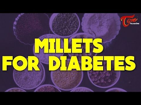 Millets For Diabetes    Right Diet    by Dr. Janaki Srinath - YouTube