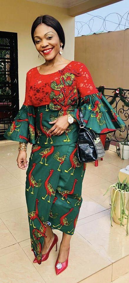 FROM DRC   Mode africaine robe, Modèles de