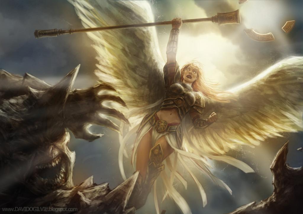 картинки с ангелами воинами обожает, когда