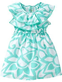 maybe for Brooke's 18 mo picRuffled Floral-Print Sundresses | Old Navy