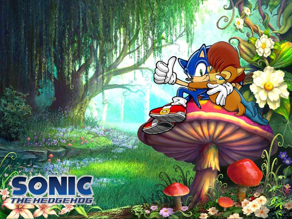 A Day In Mushroom Hill Zone By Sacredhavens Sally Acorn Sonic Sonic Satam
