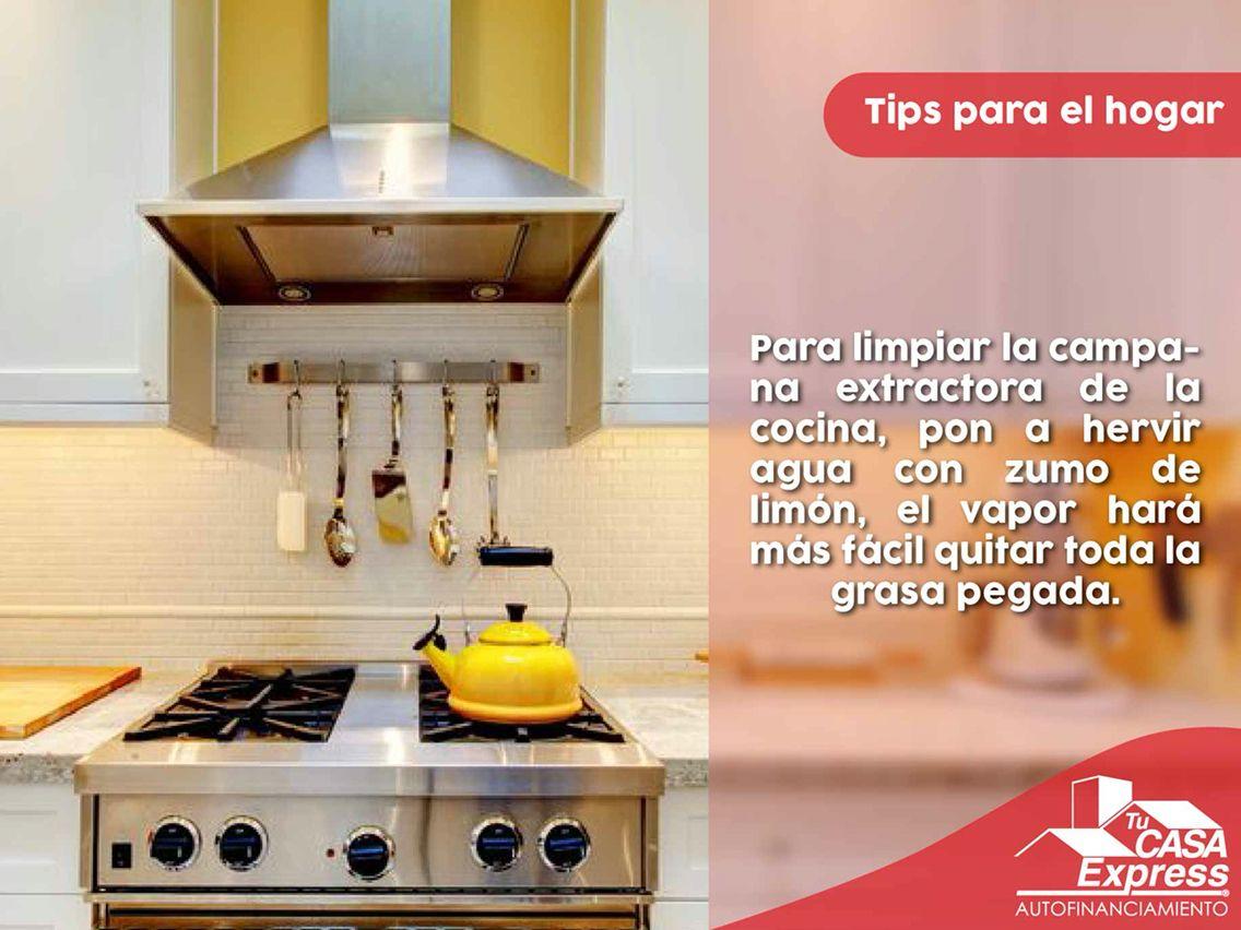 Trucos para limpiar la cocina finest trucos caseros para limpiar la cocina de forma fcil y - Como limpiar la campana de la cocina ...