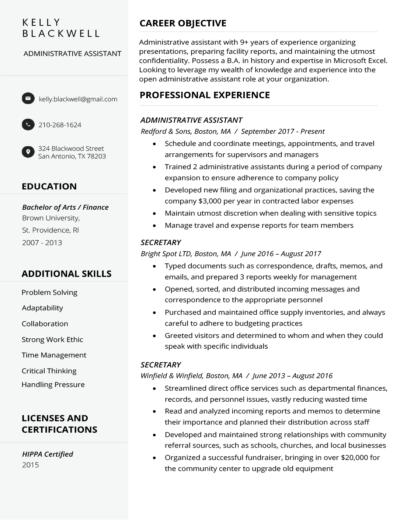 Free Resume Builder Resume Builder Resume Genius in