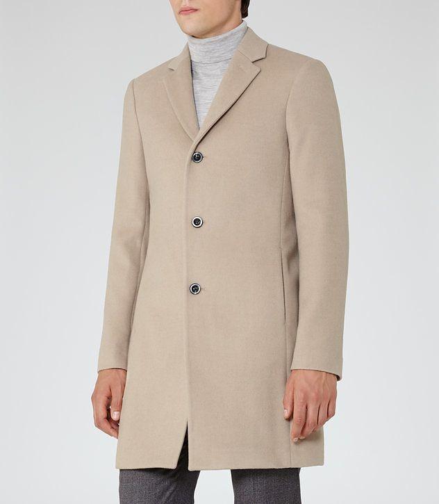 REISS GABRIEL EPSOM COAT | Mens clothing styles, Coat
