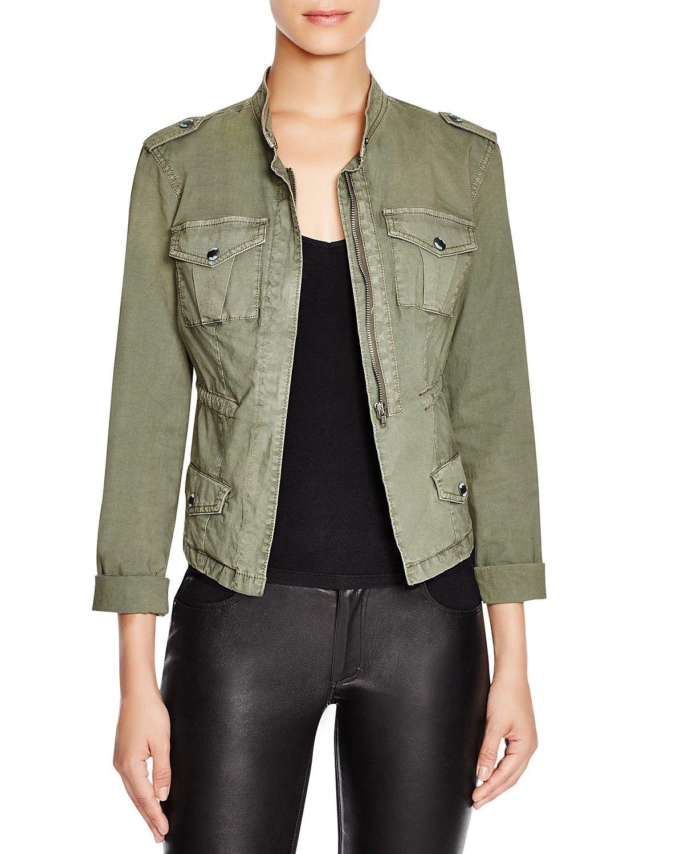 Guess Military Cargo Jacket Women Bloomingdale S Military Jacket Outfits Army Jacket Outfits Military Jacket Green [ 1500 x 1200 Pixel ]