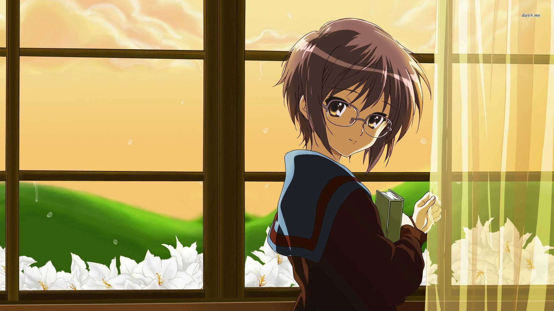 Yuki Nagato The Melancholy Of Haruhi Suzumiya Anime Wallpaper Hd Imashon Com Anime Wallpaper Anime Yuki