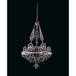Overstock bring style and sophistication to any lighting decor this beautiful design httpoverstockhome gardentriarch international grand 3 light english bronze pendant chandelier 6414963productml aloadofball Image collections