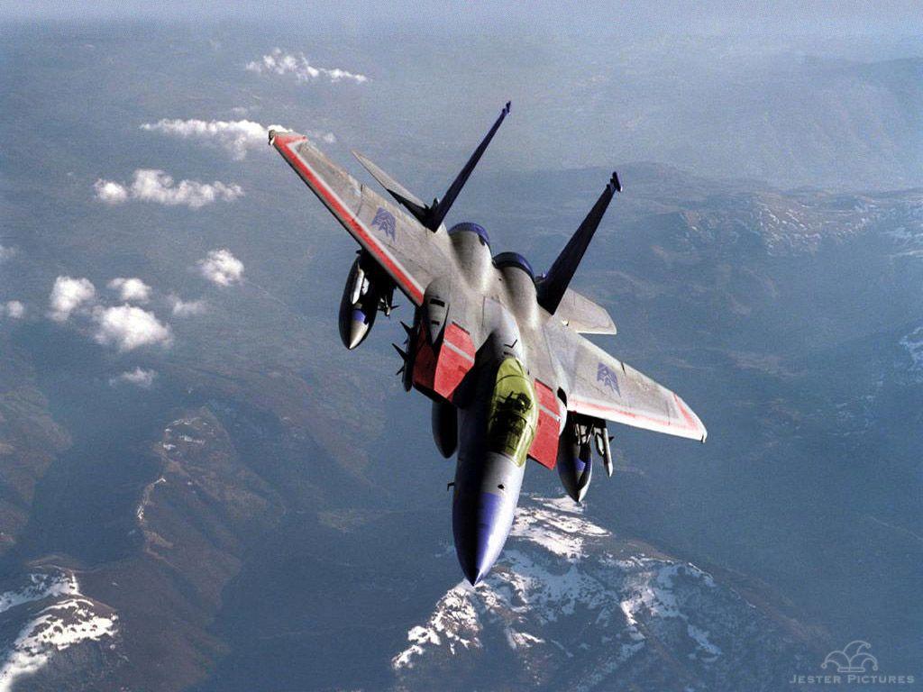 F15 Starscream Decepticon Fighter jets, Aircraft