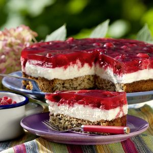 Himbeer-Mascarpone-Torte   Recipe   Kuchen, Cake and Food