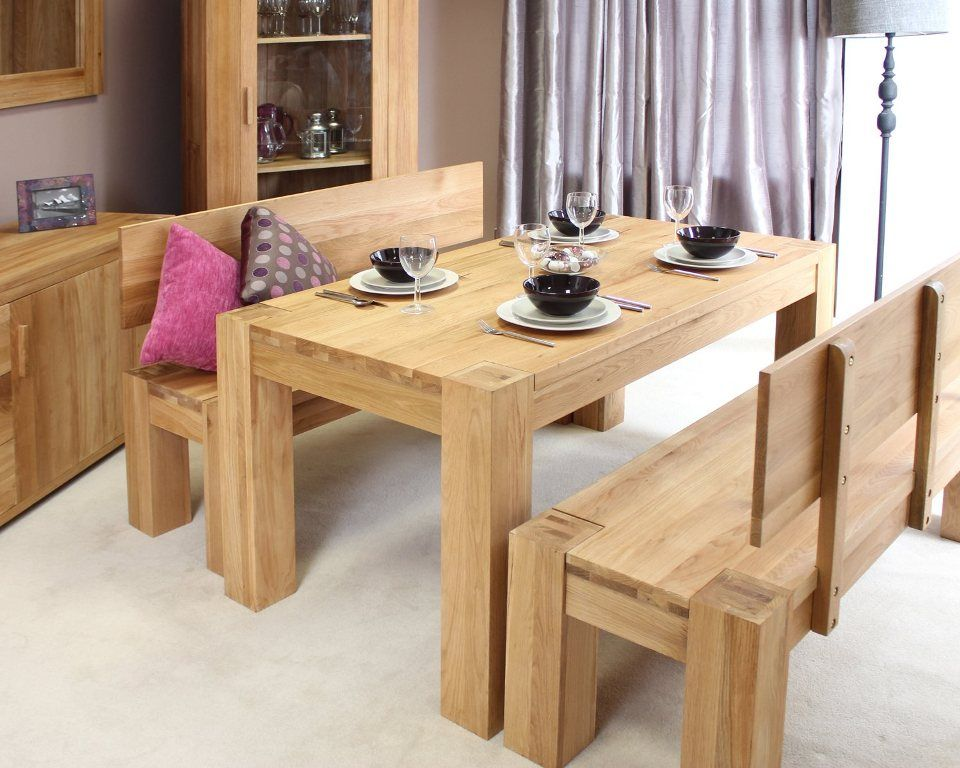 38++ Solid oak dining table and bench set Best Seller