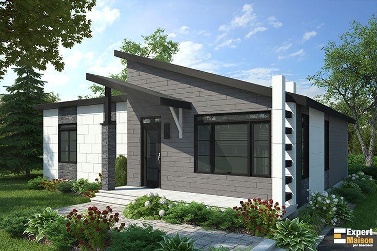 Modèle 504 - Maison au design contemporain à la fois chic à l ...