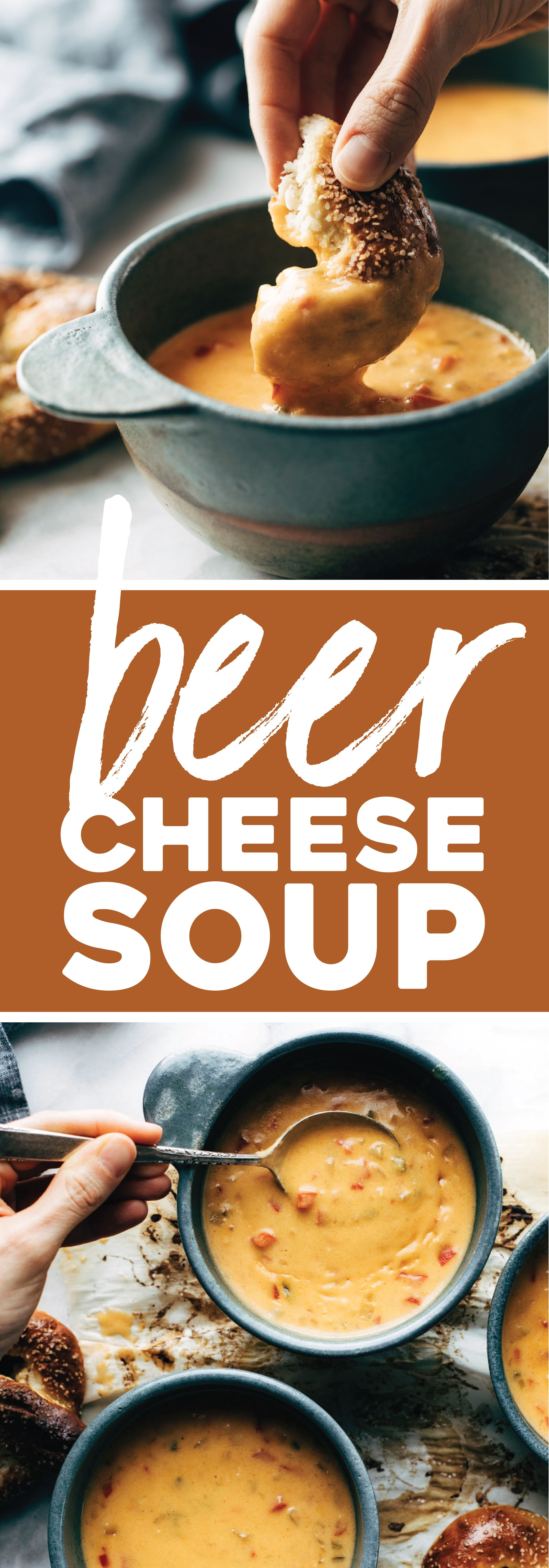 Cheese Soup with Soft Pretzels Beer Cheese Soup with Soft Pretzels! WHAT ELSE IS THERE TO SAY. Creamy homemade comfort food. | Beer Cheese Soup with Soft Pretzels! WHAT ELSE IS THERE TO SAY. Creamy homemade comfort food. |